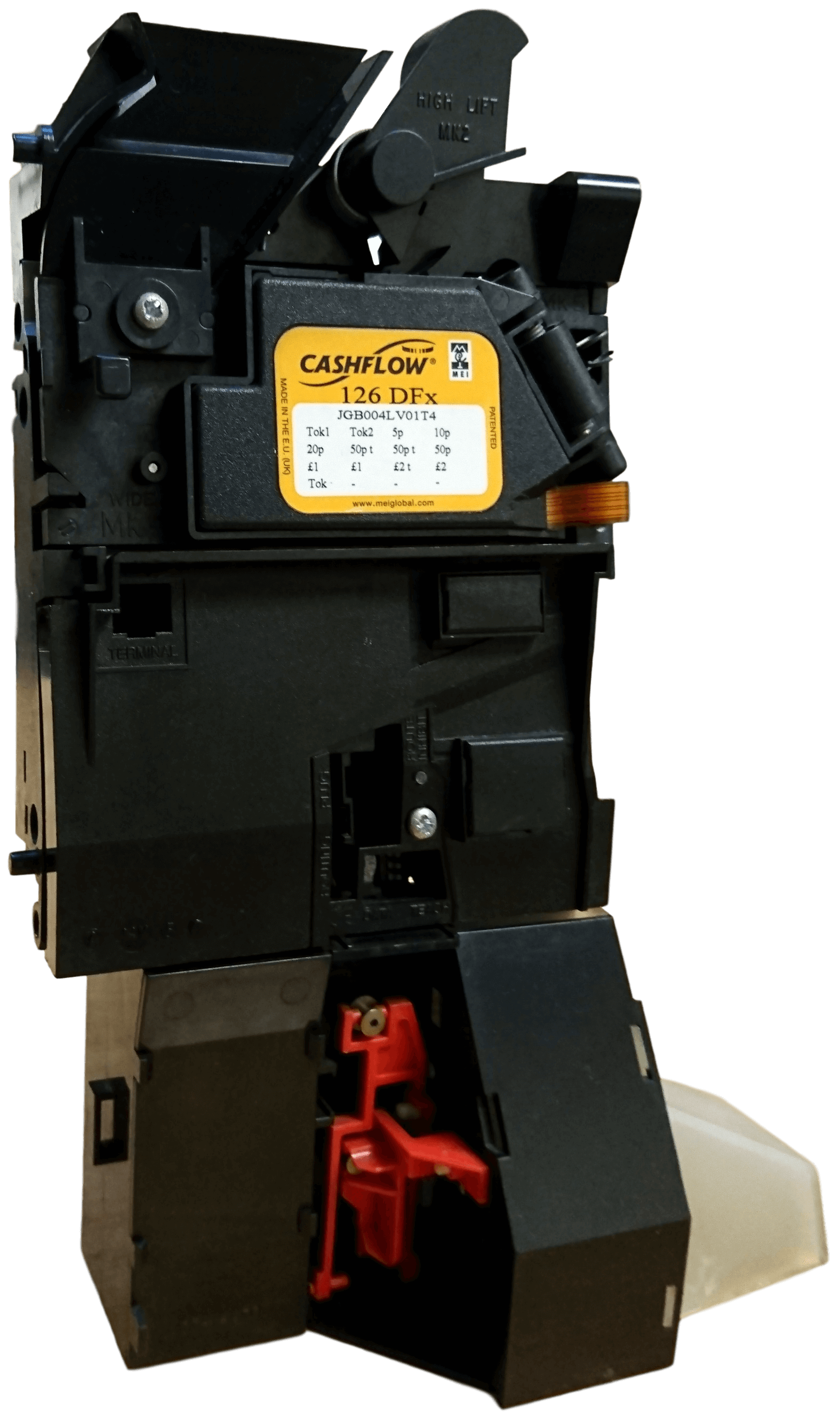 Cashflow 126 DFX Parallel / Binary Coin Mechanism