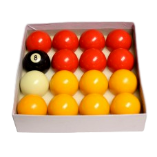 2'' Red & Yellow Pool Balls Pool Spares