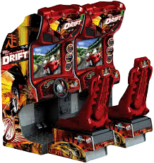 Raw Thrills - Fast and Furious Tokyo Drift Twin Driver