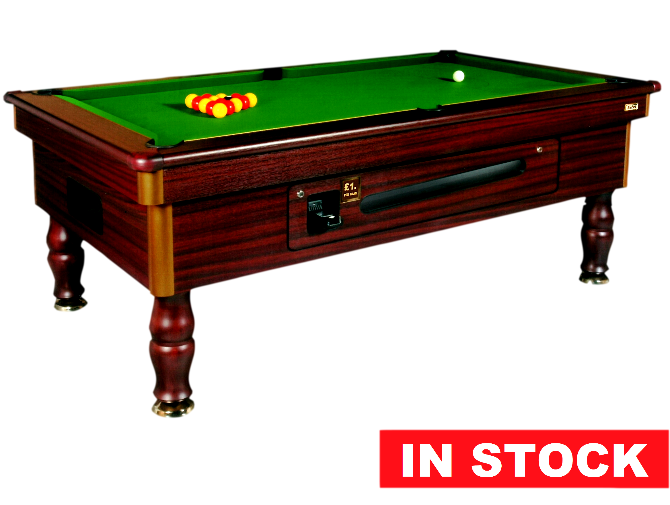 Ft Regent Mahogany Pool Table In Stock - Regent pool table