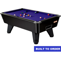 Supreme Winner Pool Table (Black Pearl Finish)