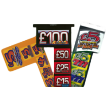 £5 Jackpot Decal Kit (L-Z)
