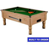 Supreme Prince Pool Table (Oak Finish)