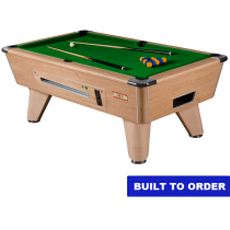 Supreme Winner Pool Table (Oak Finish)