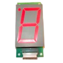 Single 7 Segment Display Unit (65mm)