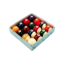 "2"" Spots & Stripes Pool Balls Pool Spares"