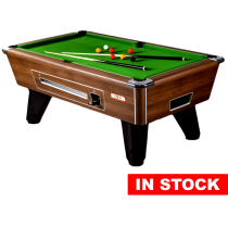 Supreme Winner Pool Table (Walnut Finish)