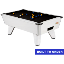 Supreme Winner Pool Table (White Pearl Finish)